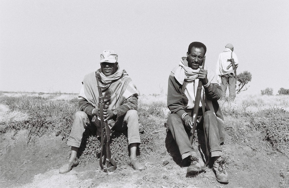 Scouts in the Simien Mountains  Photo By: Sarah Tesla