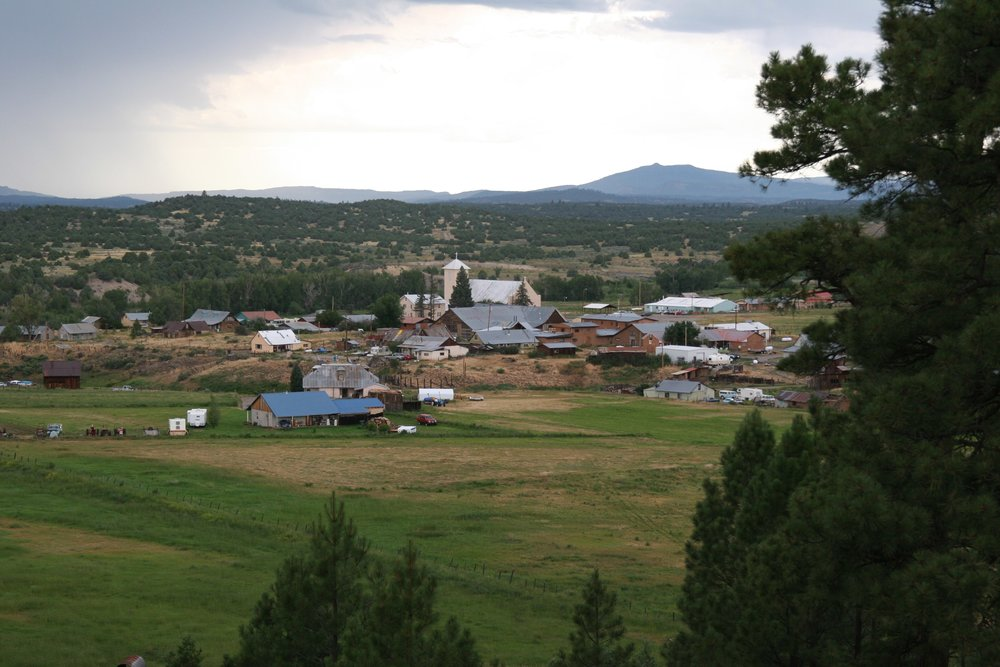 Tucked away in the northern mountains of New Mexico is the home of Tierra Wools, Los Ojos.