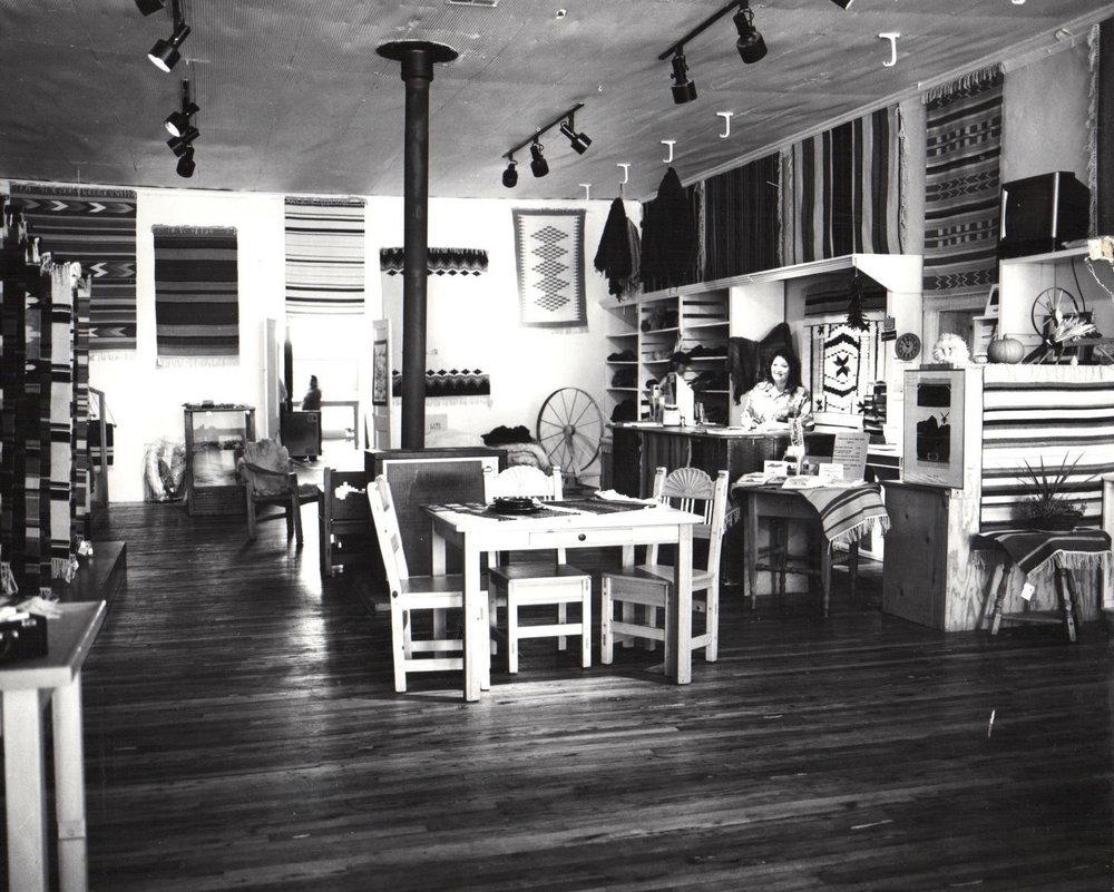 Tierra Wools showroom, mid-1990s