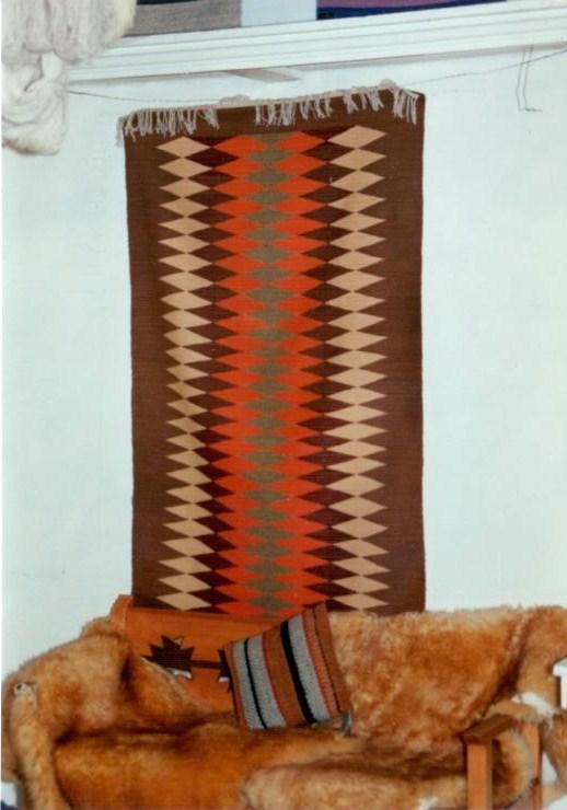 Early Tierra Wools weaving by Kika Chavez