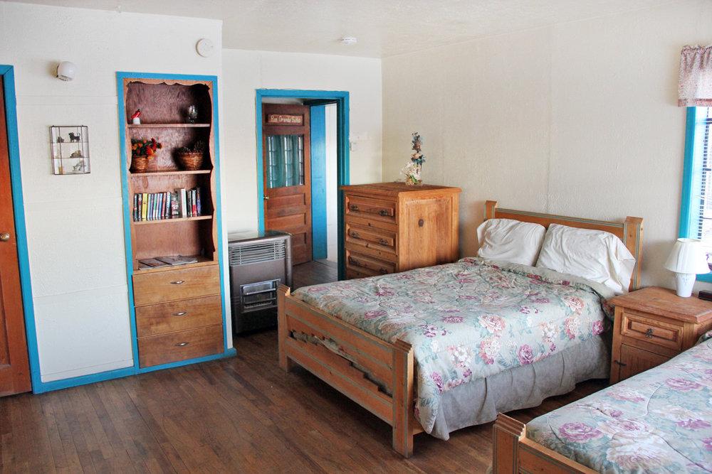 Sleeping area in the Rio Grande Suite