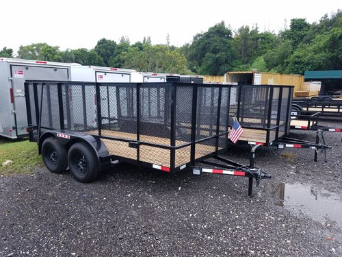 Tandem Axle Utility Trailers Withkes