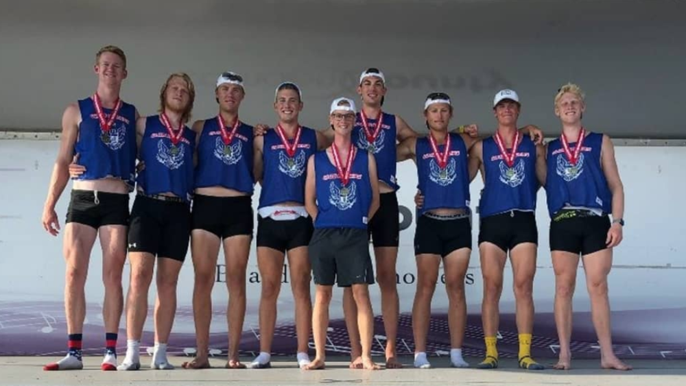 Doug McCune-Zierath ('18) - Competed at the 2018 FISU World University Rowing Championship with the USA World University team. Seated four set in the Men's 8+, the USA earned 4th place (5:46).