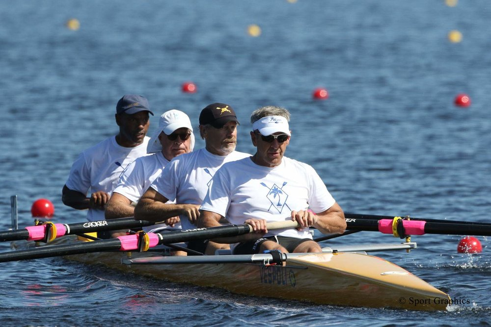 Willard Donoho ('80) - In the years since his graduation, Donoho has been an integral part of the rowing community. He is currently the Midwest Region Representative on the Board of Directors at USRowing. In 2018, he raced with Palm Beach Crew in F 4- at World Rowing Masters Regatta.