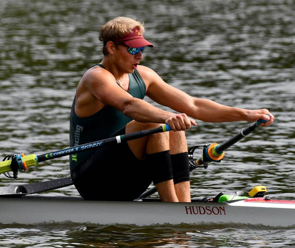 Lucas Bellows ('17) - Lucas won the 1x at the Pan American Trials in 2018 and raced in Brazil for the 2019 Pan America Games Qualification Regatta in 2019. After missing the A final by less than half a second, Bellows finished strong taking first place in the B final by a considerable margin, placing 7th overall, he will be invited back to the regatta to represent the United States again next year.