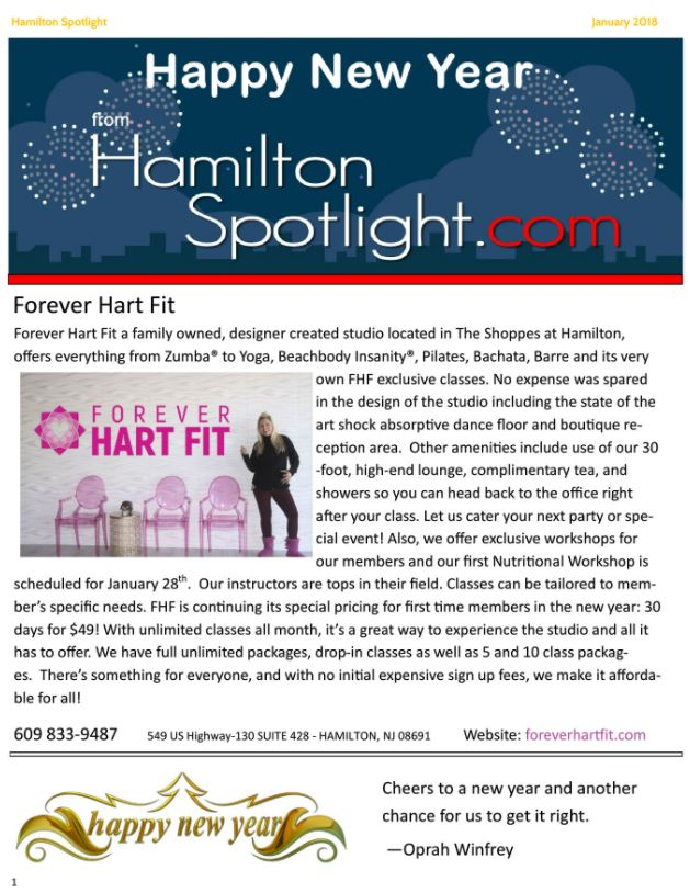 January Spotlight news - hamilton spotlight. Check out the whole issue  here !