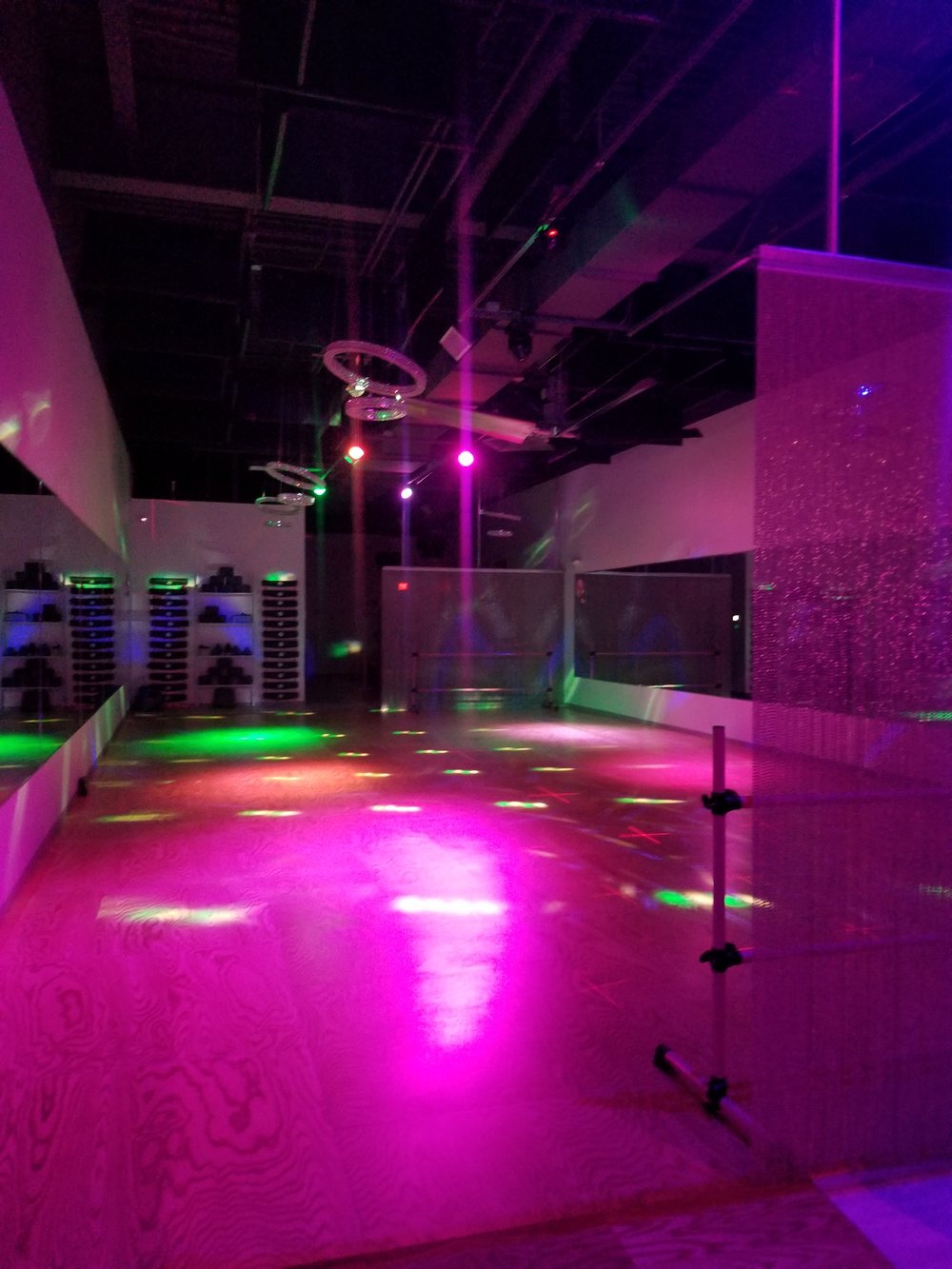 Dancefloor with lights!