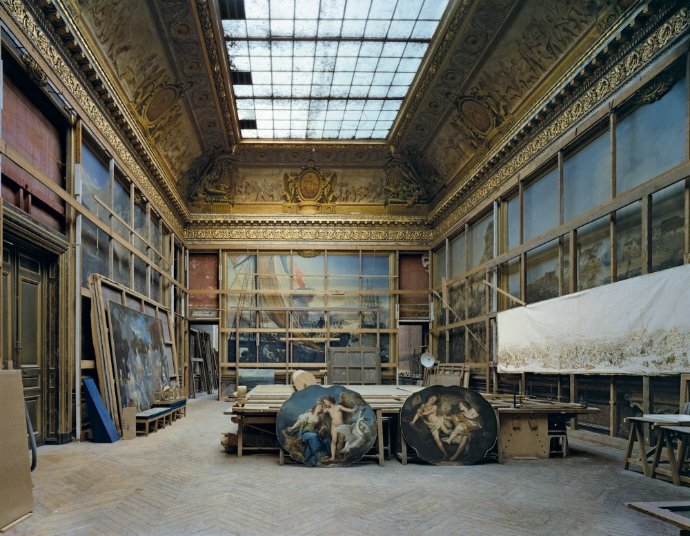 Salle de la Smalah, Chateau de Versailles, 1985 - 40 x 50 inch color photographSigned, edition of 10price upon inquiry