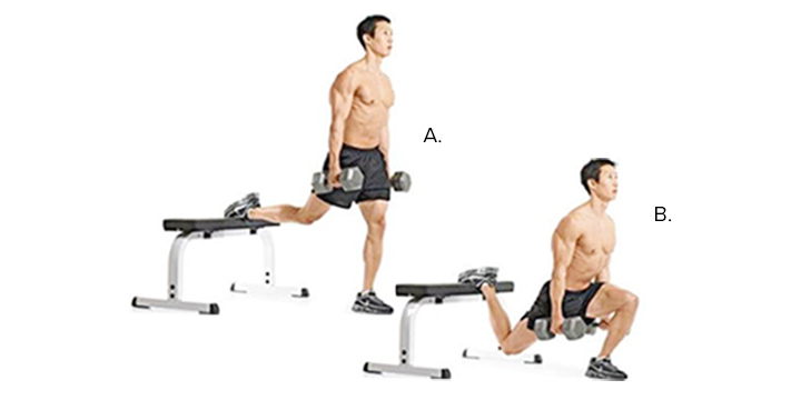 Bulgarian Split Squat