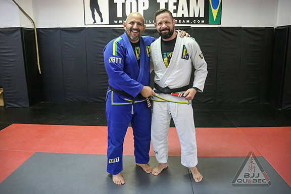INSTRUCTORS WEARING GI'S