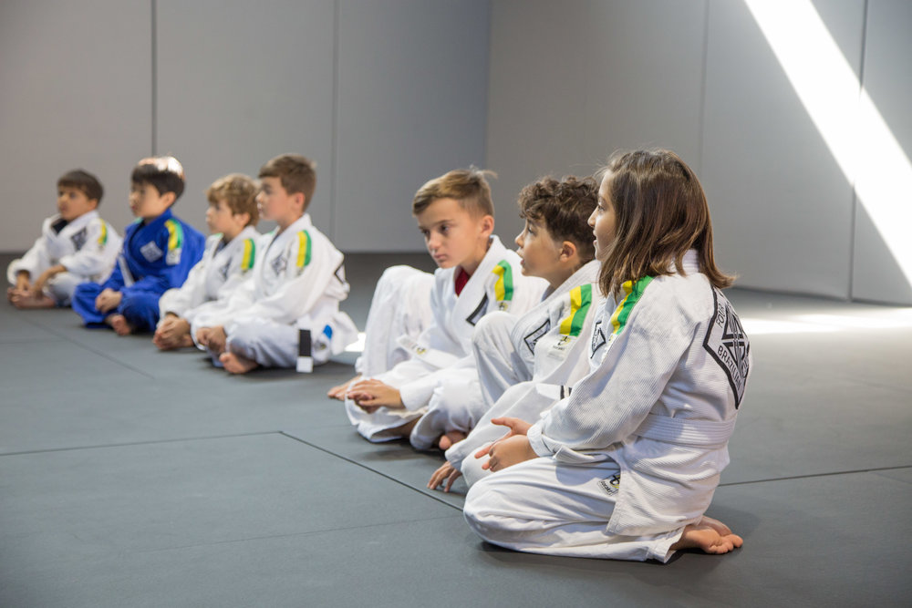 Kids Rolling BJJ Four Points