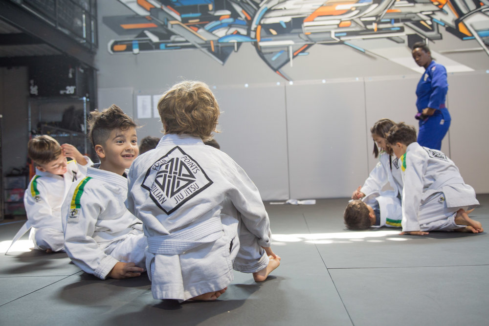 Friends at Jiu Jitsu