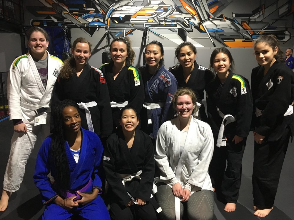 - Women who commit to learning the sport, often become skilled technicians with healthy self confidence and ability to defend themselves in the most vulnerable of situations. BJJ builds resilience, counters stress, provides a complete workout  and fosters personal growth. What makes 4PBJJ different is female leadership. Ayisha Issa is not just our youth instructor, she also owns and operates the studio and its programs with her partner David. Women are welcome to train in ALL of our classes and we pride ourselves on providing a clean, supportive and welcoming environment for people of all levels. AMAZONS BJJ is a class within a class for women who are looking to learn BJJ with other women, or make female friends within the community. We recognize that  starting something new can be intimidating,  A dedicated day and time for the women to train, makes it easier to meet and and make friends with the other women on the team while you settle into the team.