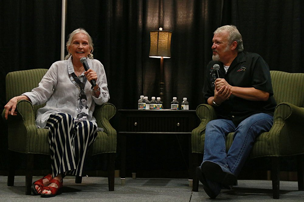 Conversations with Tom Brown with guest Marlyn Mason, Elvis' co-star in Trouble with Girls.