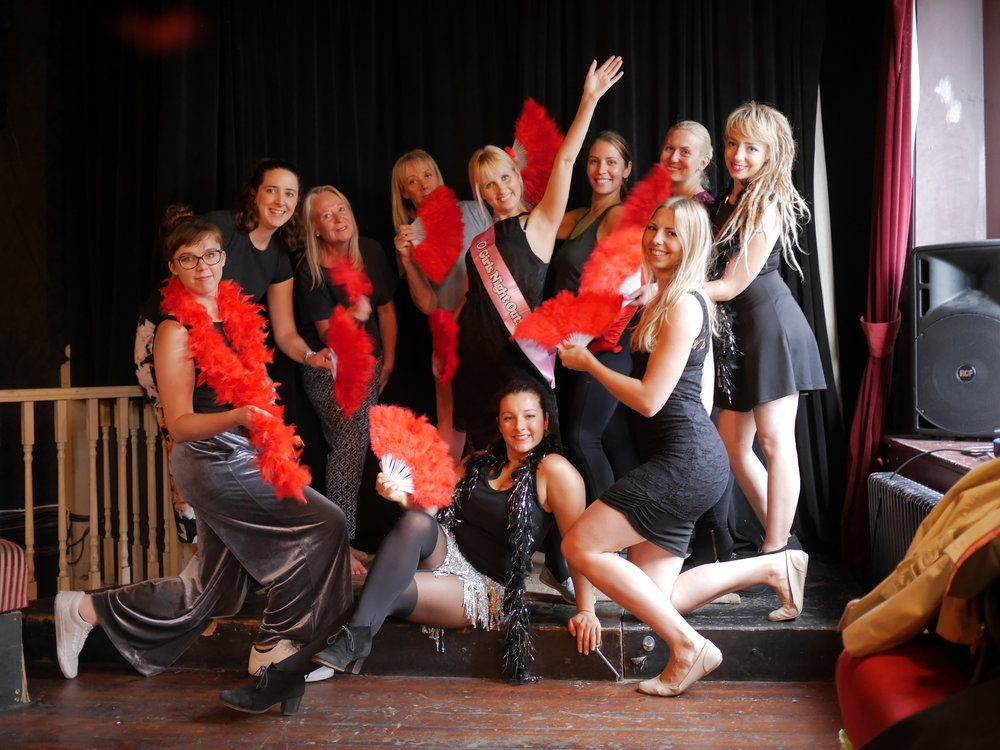 2018 Bookings! - Book your Hen Party with Just Dance Brighton! Enjoy a Burlesque Dance Class, central Brighton!