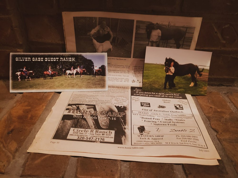 "The Silver Sage Ranch article in ""Horse Tales"" Newspaper!"