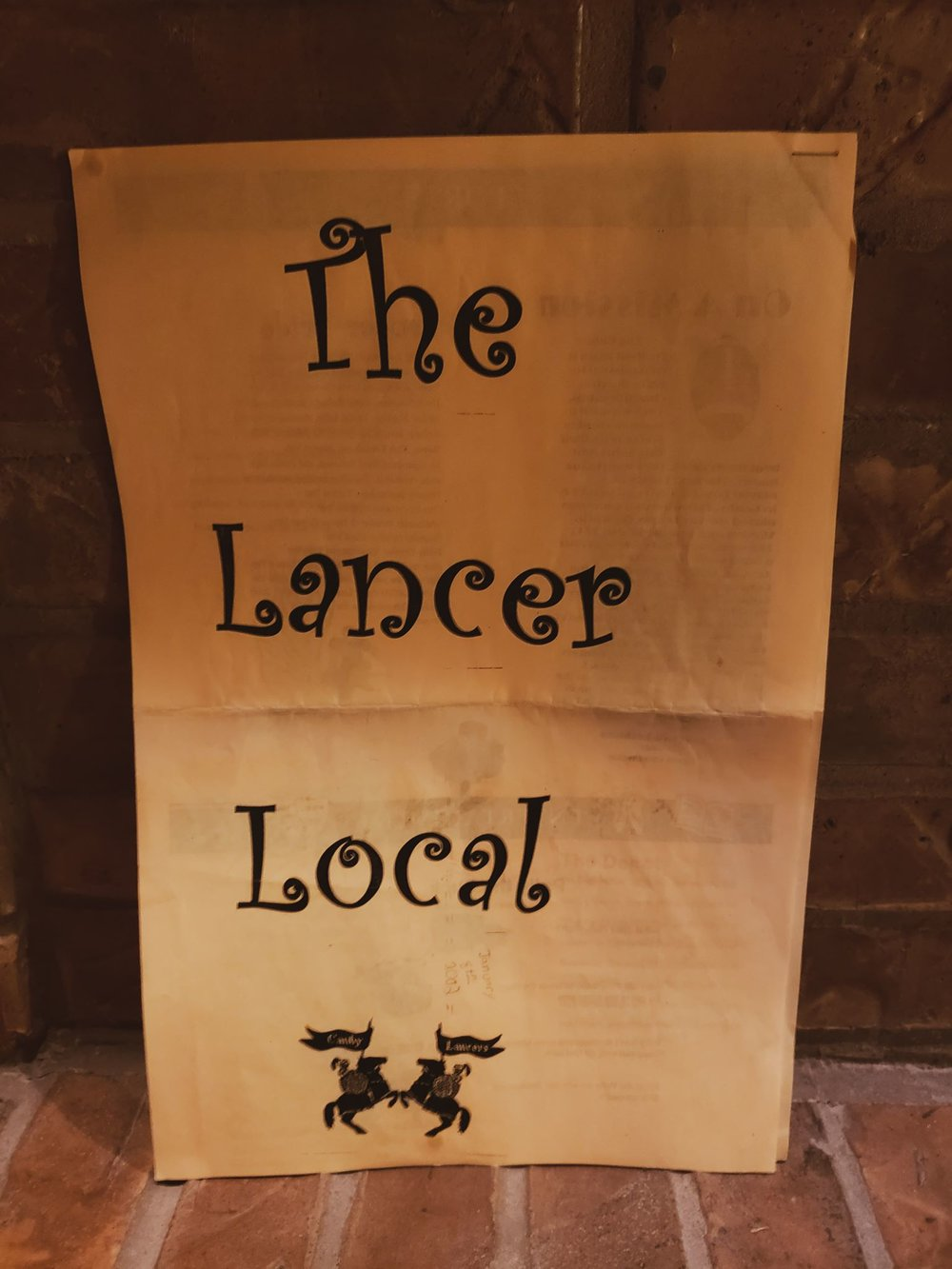 The Lancer Local, First Edition. 2002.