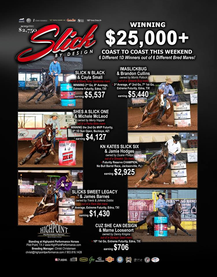 Flyer Credit: High Point Barrel Horses (High Point Performance Horses) Facebook