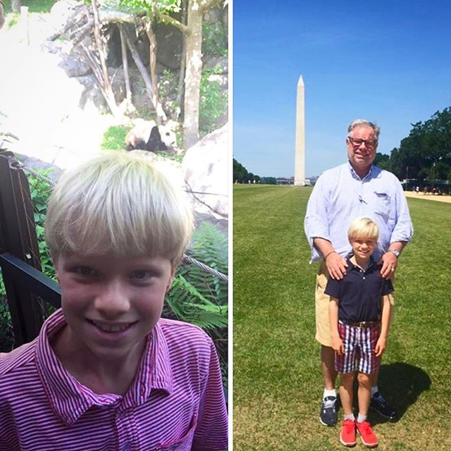 Greene School student, Mercer A. enjoying adventures in #WashingtonDC! #FamilyCountsAtGreene