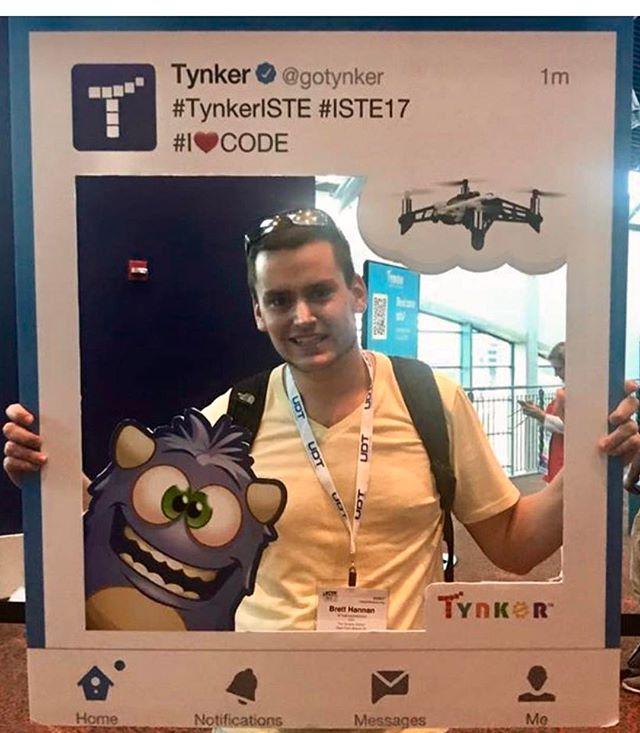 @tynkercoding  #ISTE2017 #TynkerISTE