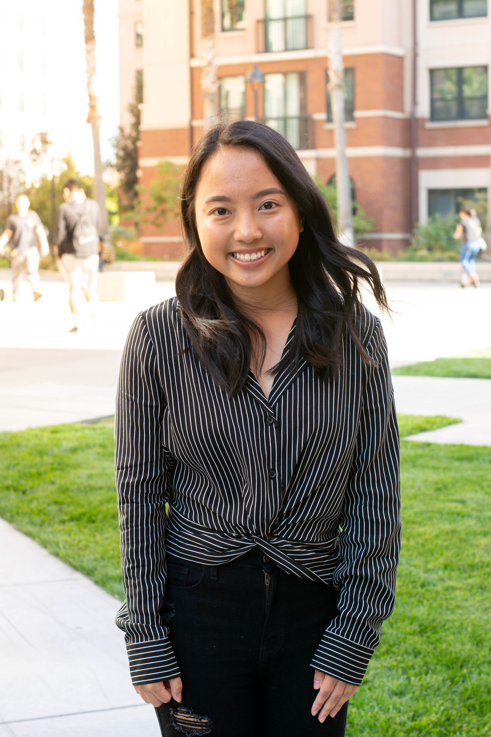 President - Brenda LeHi everyone! My name is Brenda Le, and I am currently serving as your 2018-2019 President of CV2. I was born in San Jose, California, but I grew up in Tracy and attended John C. Kimball High School. I am Vietnamese, and am majoring in Business Administration with a concentration in Management. I enjoy taking naps, watching Netflix, and listening to music in my free time. Some of my favorite artists include Khalid, Rex Orange County, Daniel Caesar, and many more. I have a strong passion for leadership, and I can't wait to serve you all this year as your CV2 President!