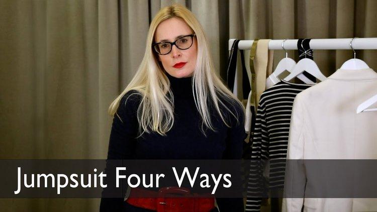4f458285cfcd How to Wear a Jumpsuit 4 Ways with TV s Nicky Hambleton-Jones — NHJ ...