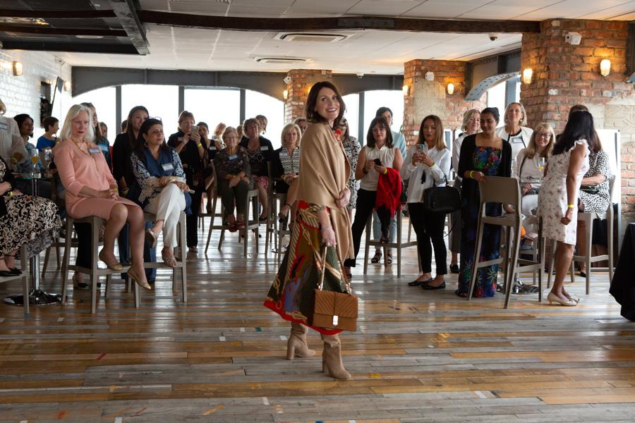 Silk scarf fashion trend AW18