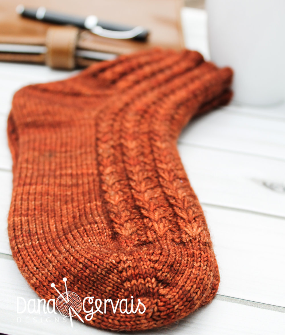 A Pattern For Caffeinated Knitters Dana Gervais Designs
