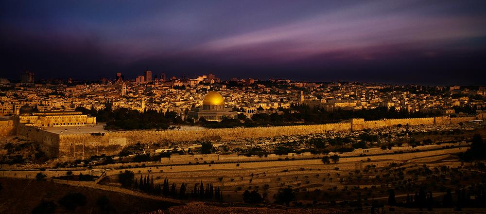 Jerusalem of Gold Long Exposure