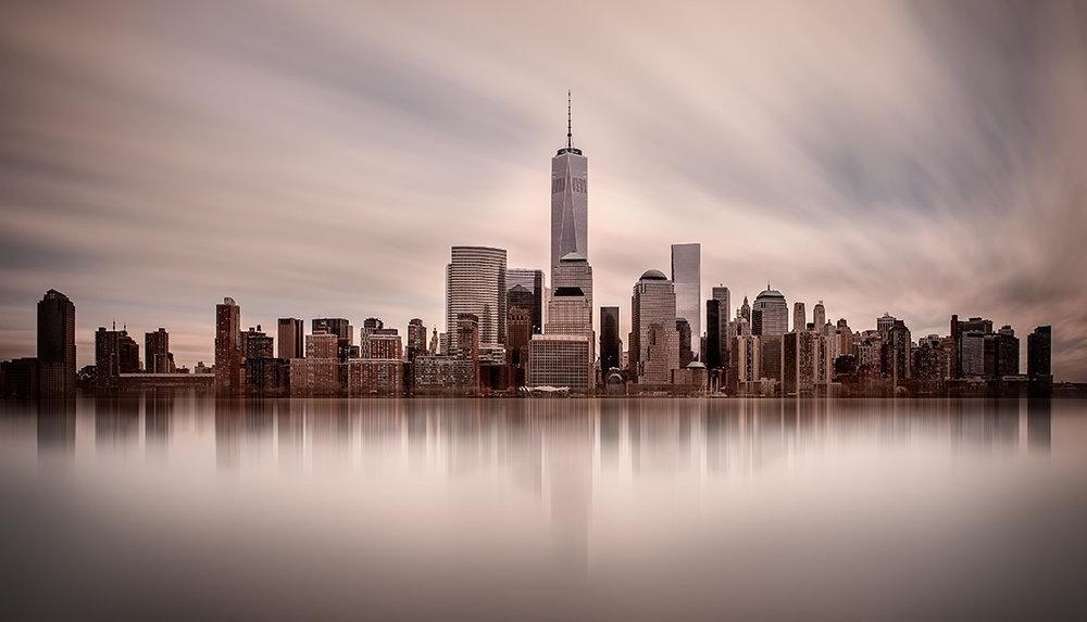New York Skyline Long Exposure