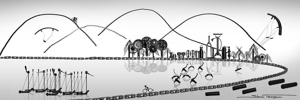 Bike Art - Jericho Beach