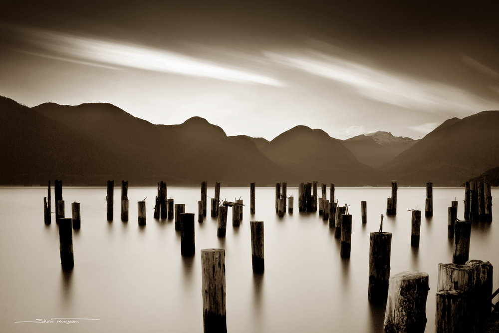 Howe Sound Piles