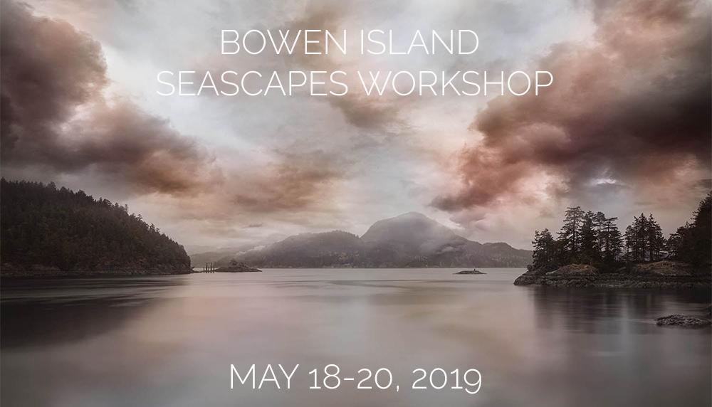Bowen Island Seascape Workshop May 2019