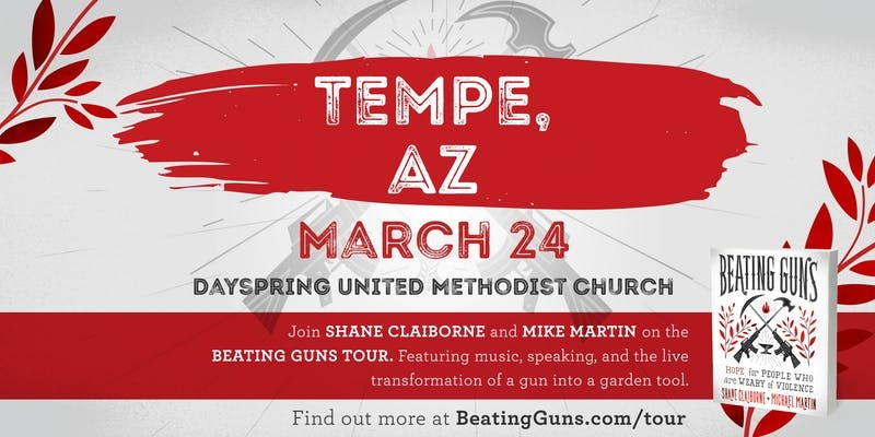 Beating Guns - Shane Claiborne - Dayspring UMC.jpg