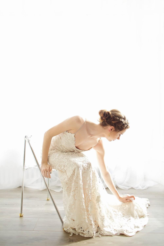 Batten Guipure Lace gown