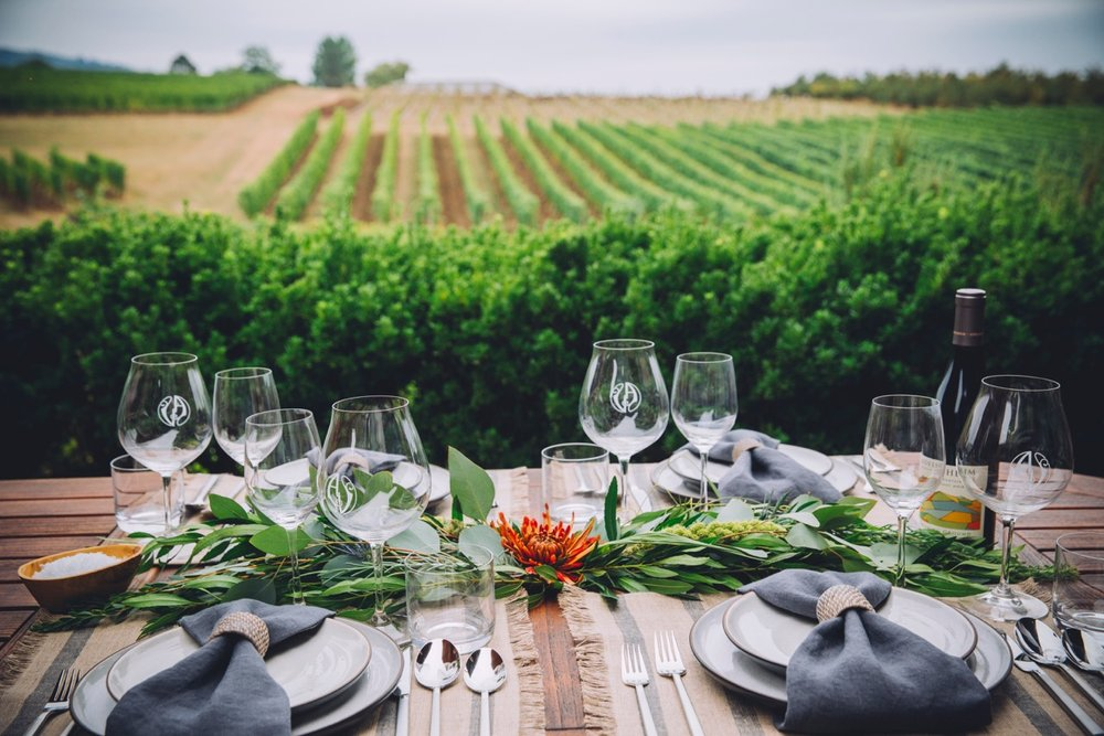 Adelsheim Vineyard Outdoor Dinner