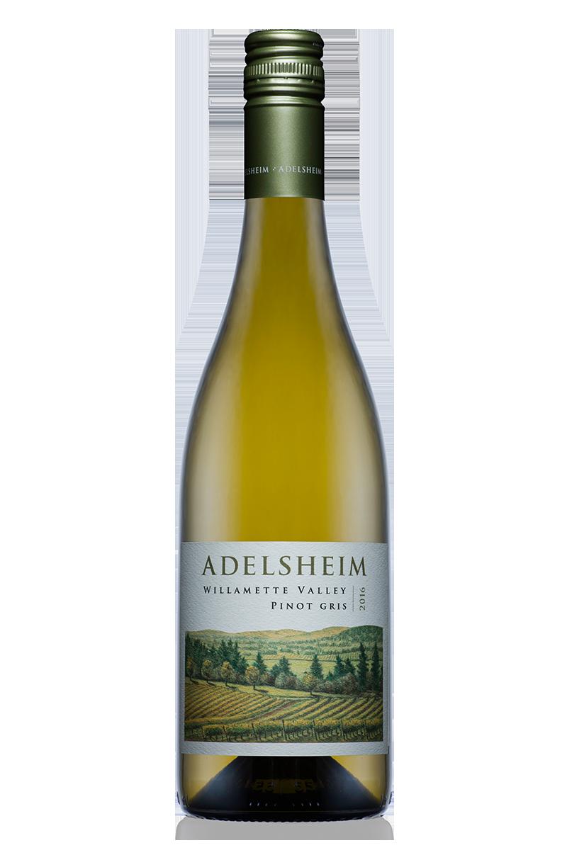 2016 Willamette Valley Pinot Gris - Bottle Shotlabel front / label backdescription sheetshelf talkersdownload all