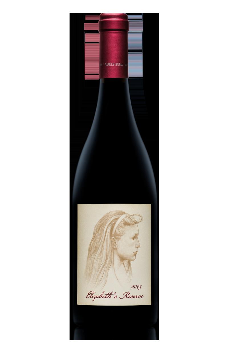 2013 Elizabeth's Reserve Pinot noir - Bottle ShotLabel Front / Label BackDescription SheetShelf TalkersDownload All
