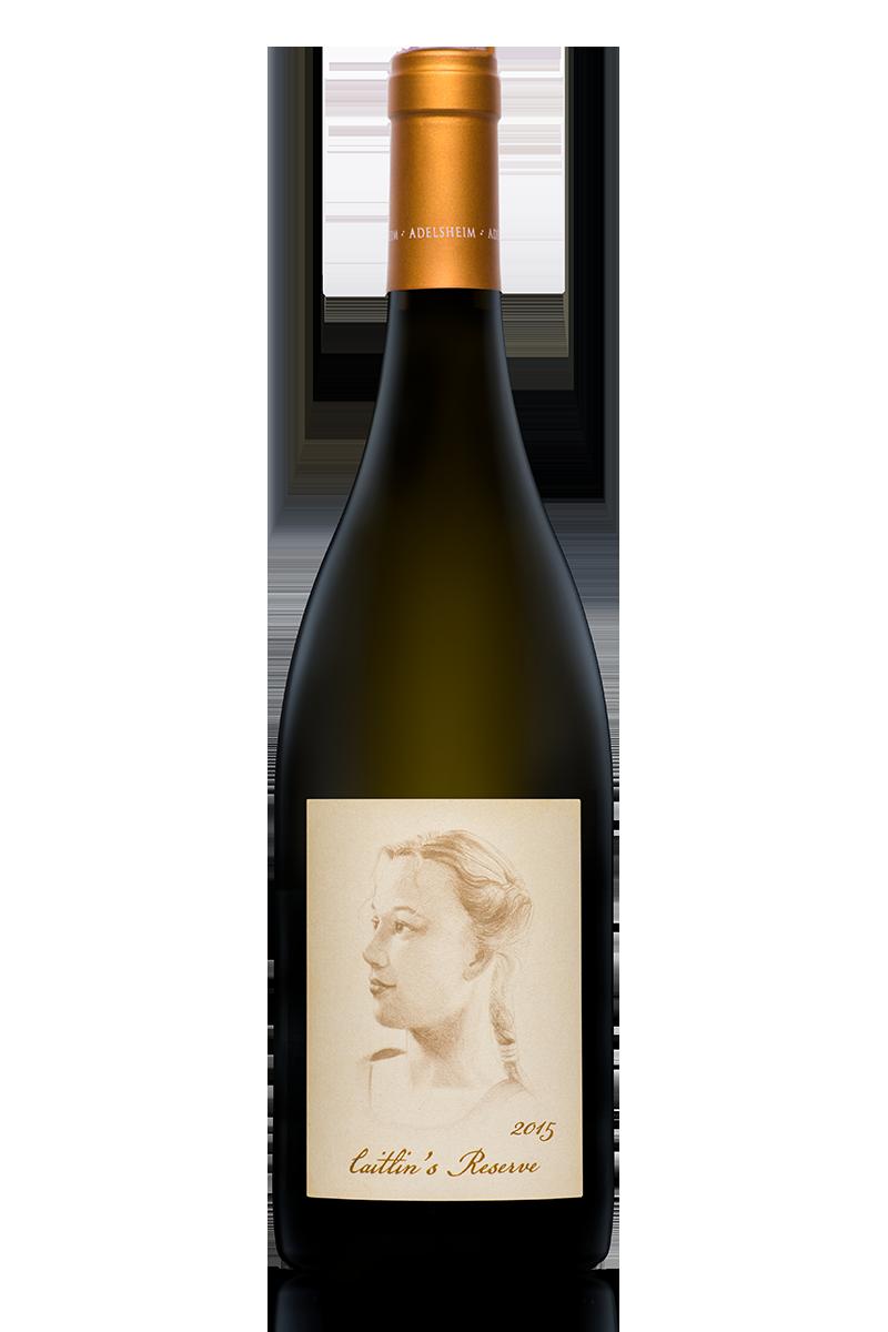 2015 Caitlin's Reserve Chardonnay - Bottle Shotlabel front / label backDescription Sheetshelf talkersDownload All