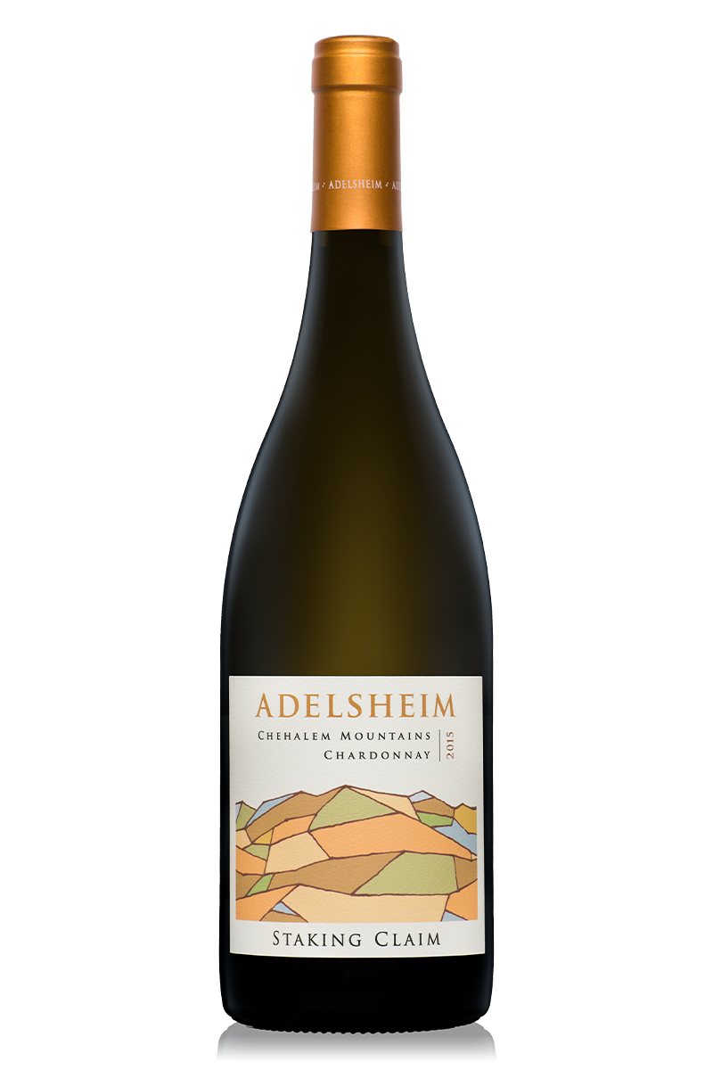 2015 Staking Claim Chardonnay - Bottle Shotlabel front / label backDescription Sheetshelf talkersDownload All