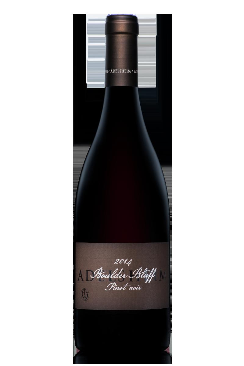 2014 boulder bluff pinot noir - Bottle Shotlabel front / label backDescription SheetDownload All