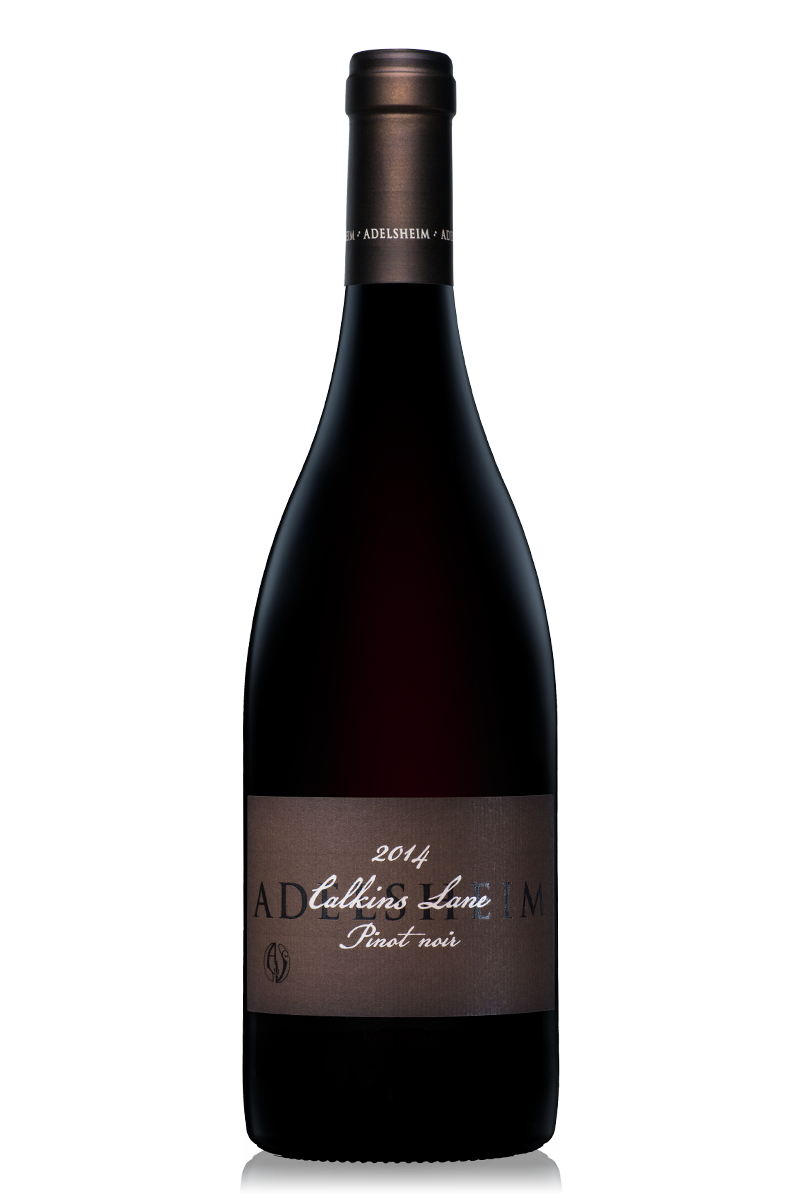 2014 Calkins Lane pinot noir - Bottle Shotlabel front / label backDescription SheetDownload All
