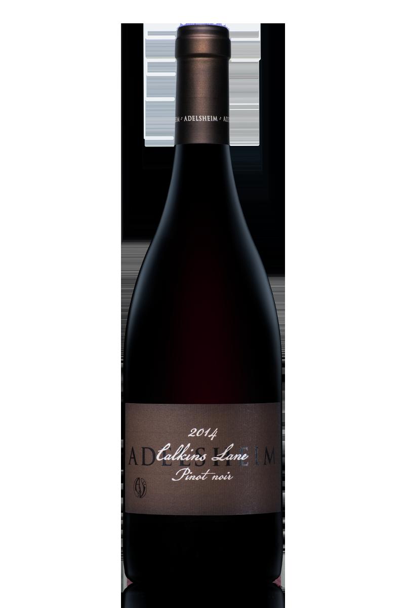 2014 Calkins Lane pinot noir - Bottle Shotlabel front / label backDescription SheetDownload All