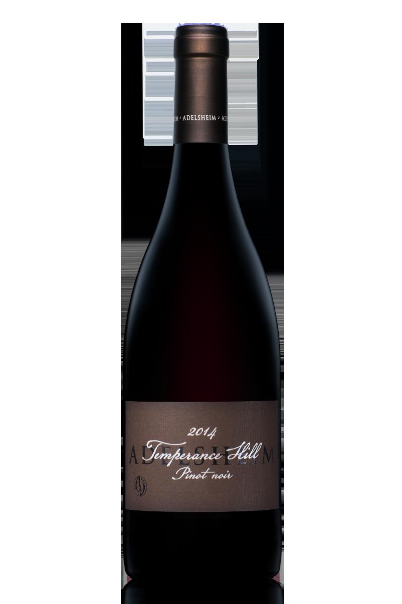 2014 Temperance hill pinot noir - bottle shotlabel front / label backdescription sheetdownload all