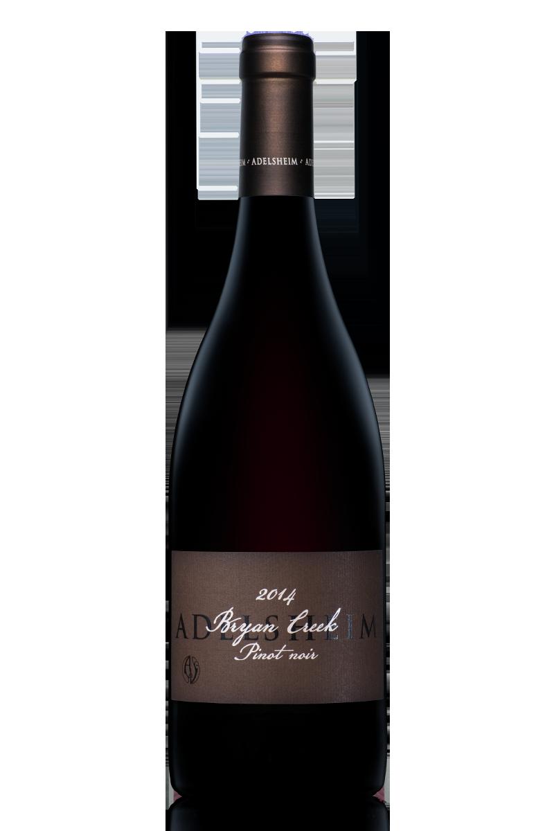2014 bryan creek pinot noir - bottle shotlabel front / label backdescription sheetshelf talkersdownload all