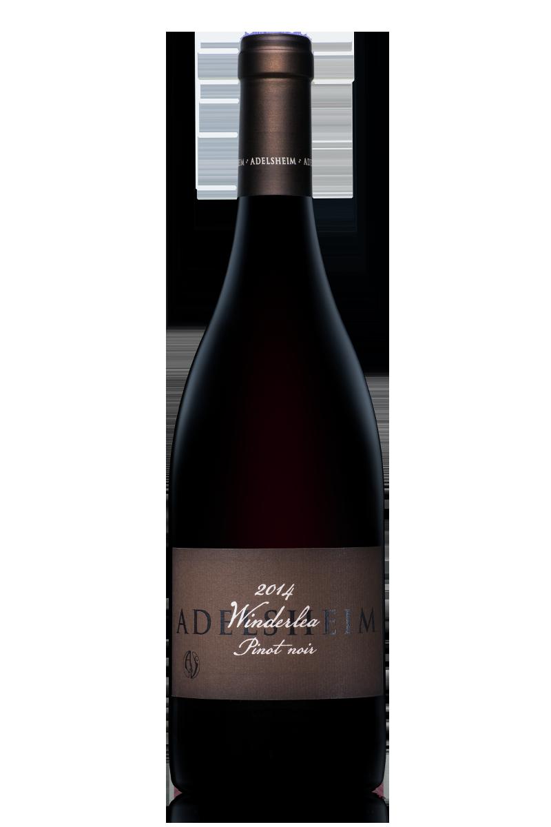 2014 winderlea pinot noir - bottle shotlabel front / label backdescription sheetdownload all