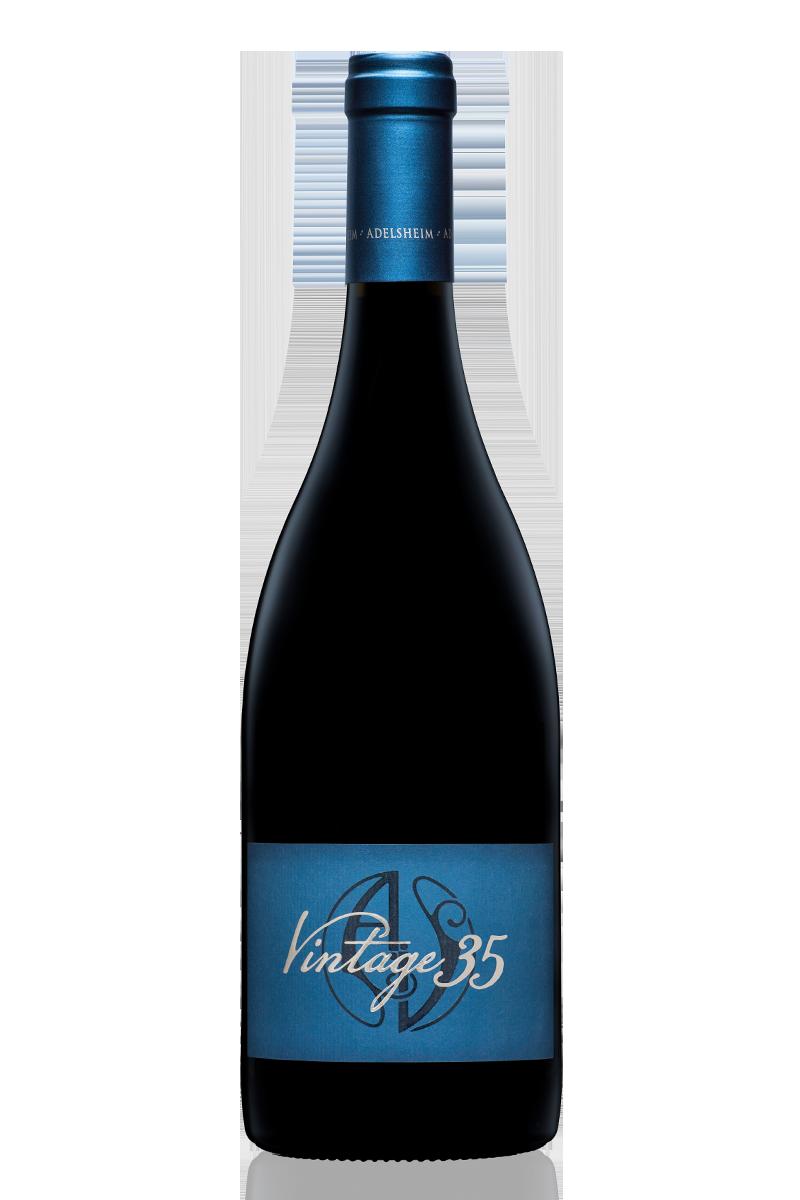 2012 Vintage 35 pinot noir - bottle shotlabel front / label backdescription sheetdownload all