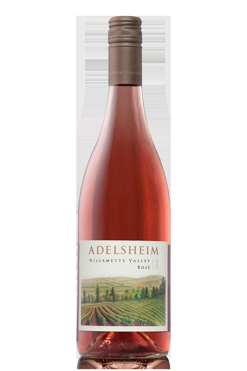 2016 willamette valley rosé - bottle shotlabel front / label backdescription sheetshelf talkersdownload all