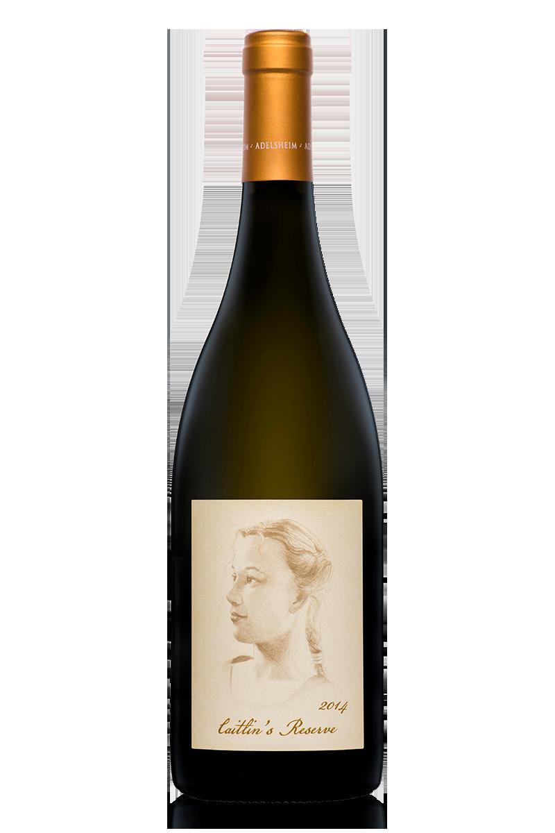 2014 CAITLIN'S RESERVE CHARDONNAY - bottle shotlabel front / label backdescription sheetshelf talkersdownload all