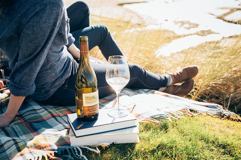 Adelsheim Chardonnay on the Oregon Coast